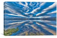 Loch Lomond Reflection, Canvas Print