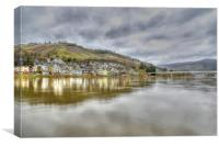 Across the Moselle, Canvas Print