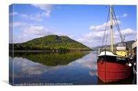 Loch Fyne Scotland, Canvas Print
