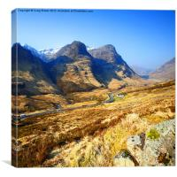 Glencoe, Scotland, Canvas Print