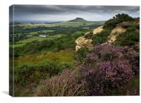 Roseberry Topping from Cockshaw Hill, Canvas Print
