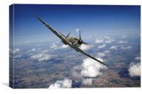 Battle of Britain Spitfire Mk I, Canvas Print