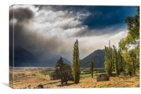 North of Glenorchy, Canvas Print
