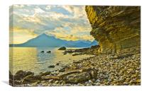 Cuillins from Elgol, Canvas Print