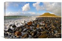 Coral beach Isle of Skye, Canvas Print