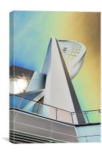 Spinnaker colours, Canvas Print
