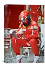 Ferrari Mechanic, Canvas Print