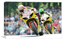 Tommy Hill & Michael Laverty - BSB 2011, Canvas Print
