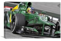 Charles Pic - Caterham 2013, Canvas Print