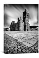 The Pierhead Building at Cardiff Bay, Canvas Print