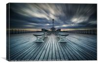 Penarth Peir Dawn, Canvas Print