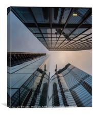 Leadenhall Architecture City of London, Canvas Print