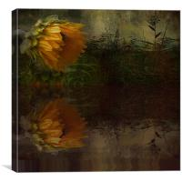 Sunflower Summer, Canvas Print
