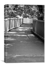 Bridge Shadows, Canvas Print