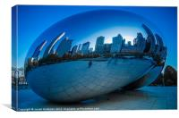 Cloud Gate, Canvas Print