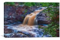 Scenic Waterfall, Canvas Print