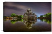 Matsumoto Castle, Canvas Print