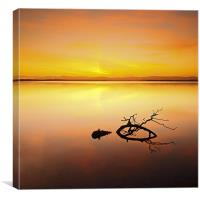 Loch Leven Sunset, Canvas Print