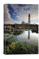 Corsewall Lighthouse, Canvas Print
