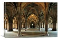 Cloisters, Canvas Print