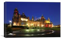 Kelvingrove Art Gallery and Museum, Canvas Print