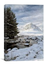 Glencoe Winter Landscape, Canvas Print