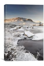 Glencoe Winter View, Canvas Print