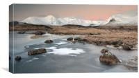 Lochan Sunrise, Canvas Print