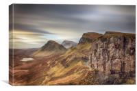 Quiraing - Isle of Skye, Canvas Print