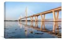 Queensferry Crossing , Canvas Print