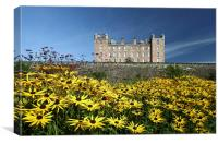 Drumlanrig Castle and Garden, Canvas Print