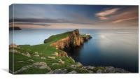 Neist Point at Sunset, Canvas Print