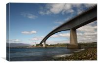 Skye Bridge and Kyleakin Lighthouse, Canvas Print
