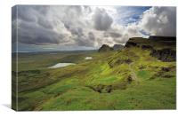 Quiraing and Trotternish, Canvas Print