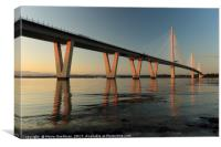 Queensferry Crossing at Sunset, Canvas Print