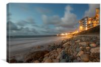Westward Ho! north Devon, Canvas Print