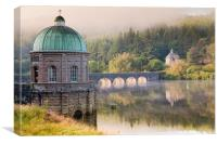 Elan Valley Morning Light, Canvas Print