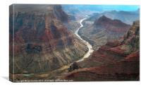 The Grand Canyon, Canvas Print