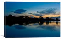 Sunset Cooling Down Nicely, Canvas Print