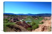 WOLF CREEK GOLF COURSE, Canvas Print