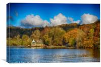 Windermere Boat House, Canvas Print