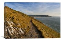 Croyde Bay, Canvas Print