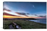 Croyde North Devon, Canvas Print