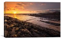 Croyde Bay, North Devon., Canvas Print