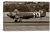 C-47A Sytrain That's All Brother, Canvas Print