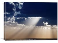 The Voice of God, Canvas Print