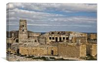 Fort Ricasoli, Canvas Print