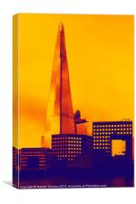 Modern - The Shard London England, Canvas Print