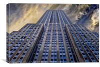 Empire State Building 34th Street, Canvas Print