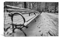 madison square park nyc, Canvas Print